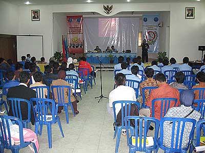 Seminar Anti Narkoba Universitas Bangka Belitung Indonesia