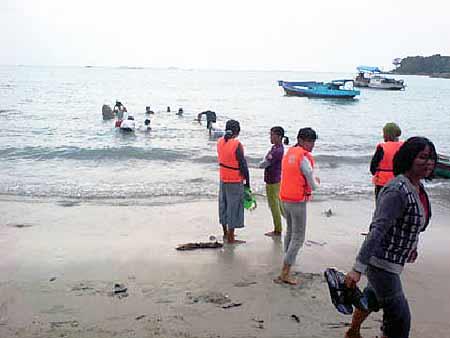 Kabar Dari Laut, Perikanan UBB : Provinsi Kepulauan Bangka Belitung: Bangka Belitug ISland Indonesia