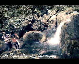 Foto Nuansa Fotografi di Jembatan Perimping dan Air terjun tak bernama di Lereng Gunung Maras Bangka