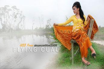 Fotografi dalam Bungkusan Kain Cual ASli Bangka Belitung