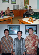 Kunjungan anggota DPD RI asal Bangka Belitung Tell