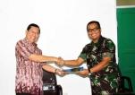MoU  UBB Dengan Korem Garuda 045 Jaya