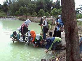 Tin Miners in Bangka
