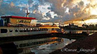 Foto Fotografi Pagi Hari di Pelabuhan Ketapang Pangkalbalam, Pangkalpinang, Bangka Belitung